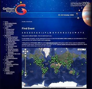 mapa astronomía